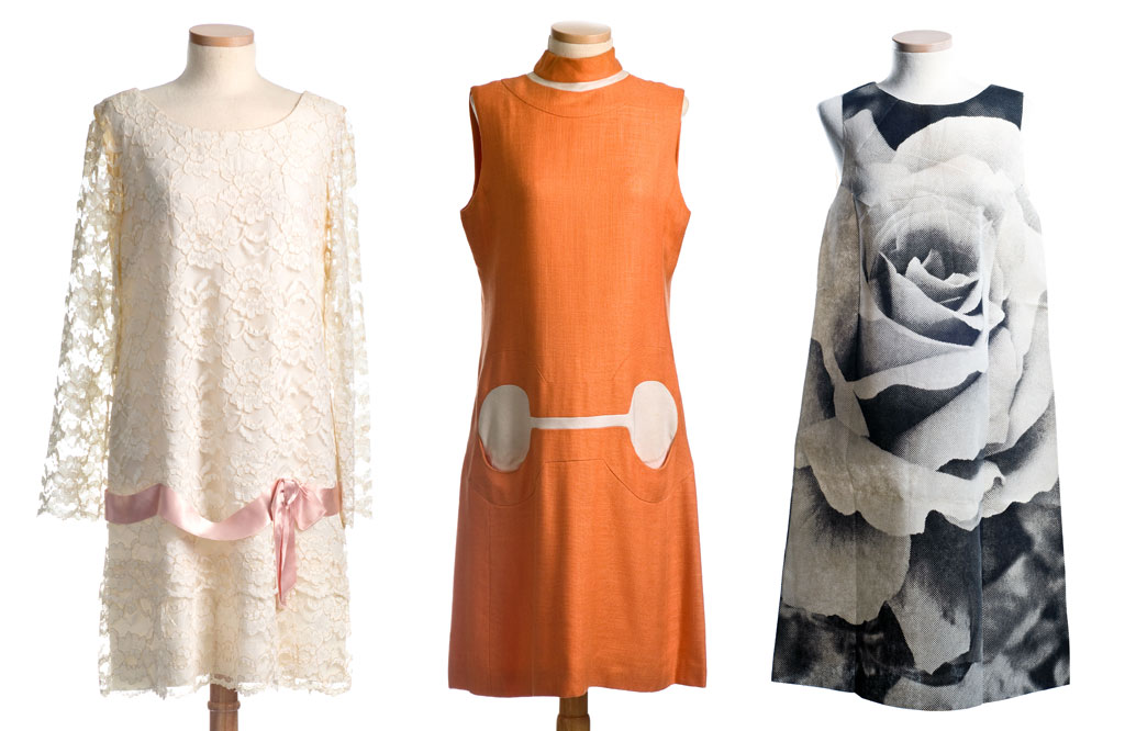 From The 1960s These Three Dresses Demonstrate Bold Youthful Strength Of Fashion World At That Time Sweet Lace Short Stops By Ronnie