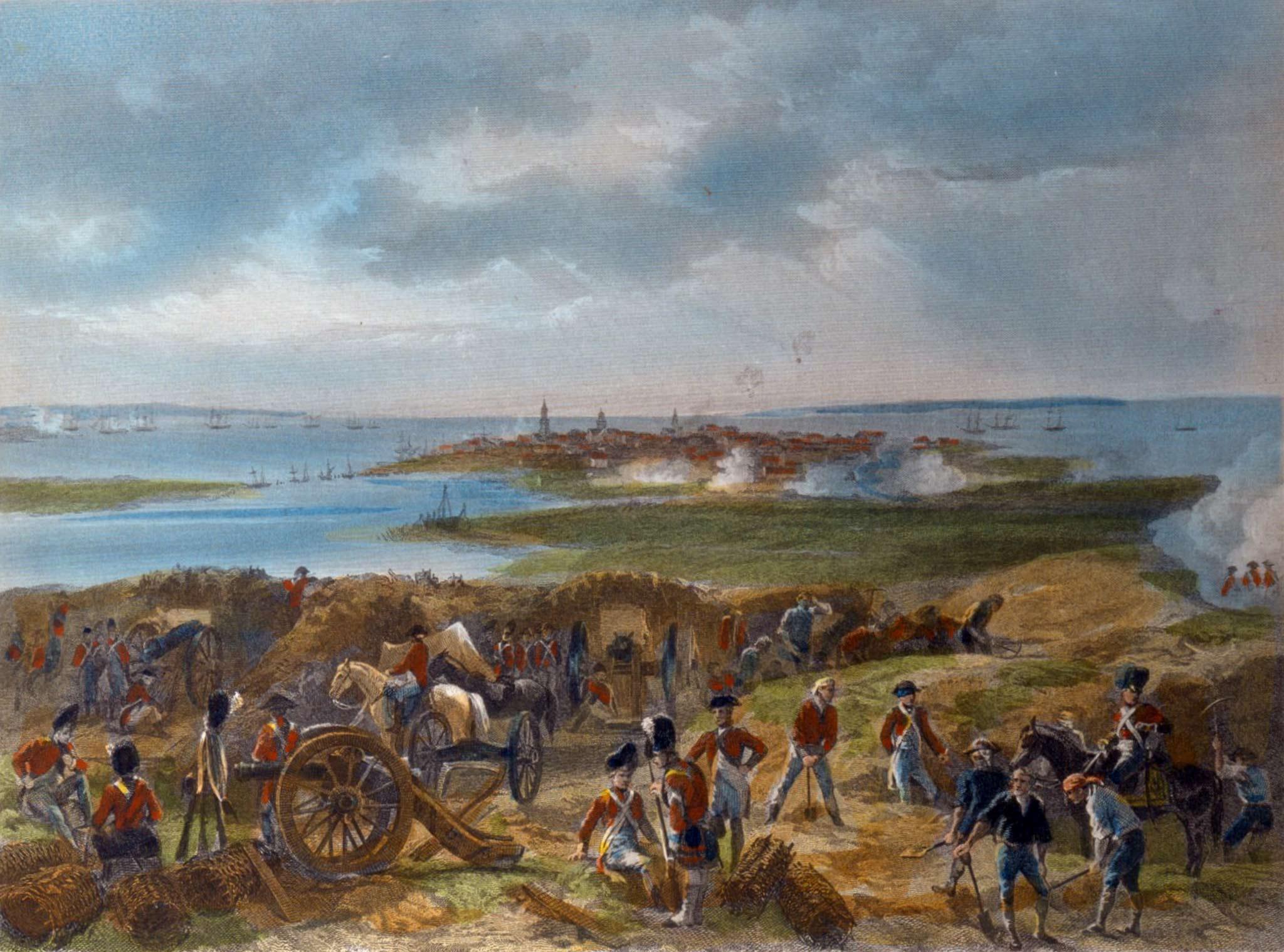 Revolutionary War Siege Lines Walking Tour with Director, Carl P. Borick