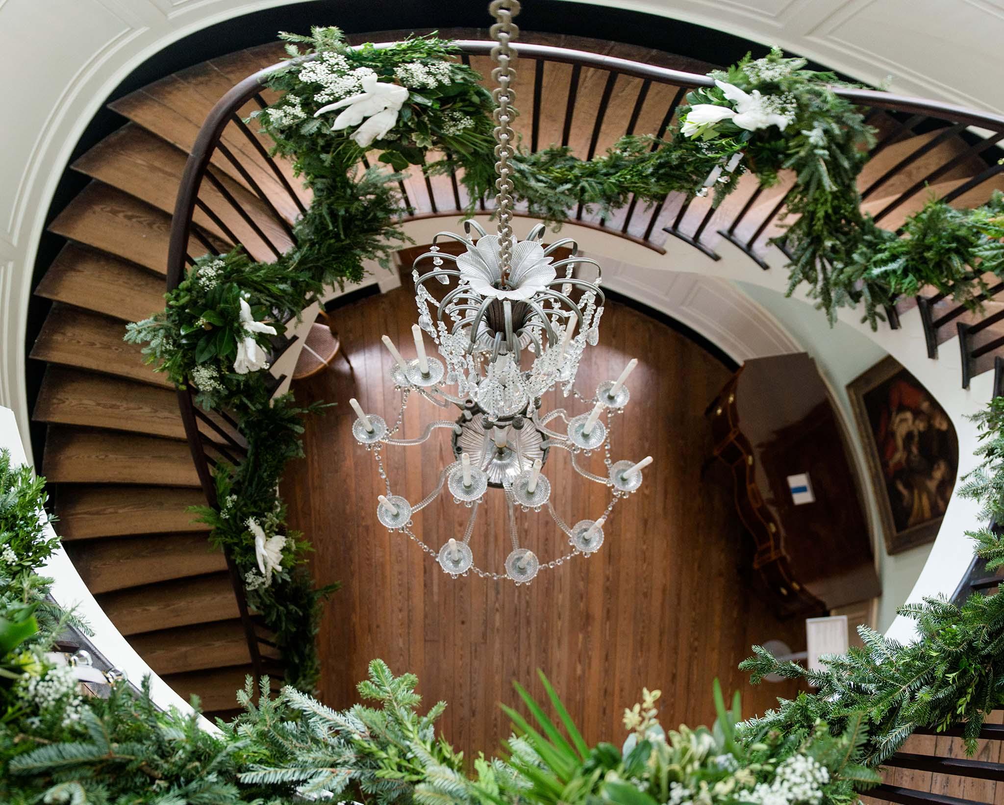 Garden Club of Charleston Holiday Decorations at the Joseph Manigault House