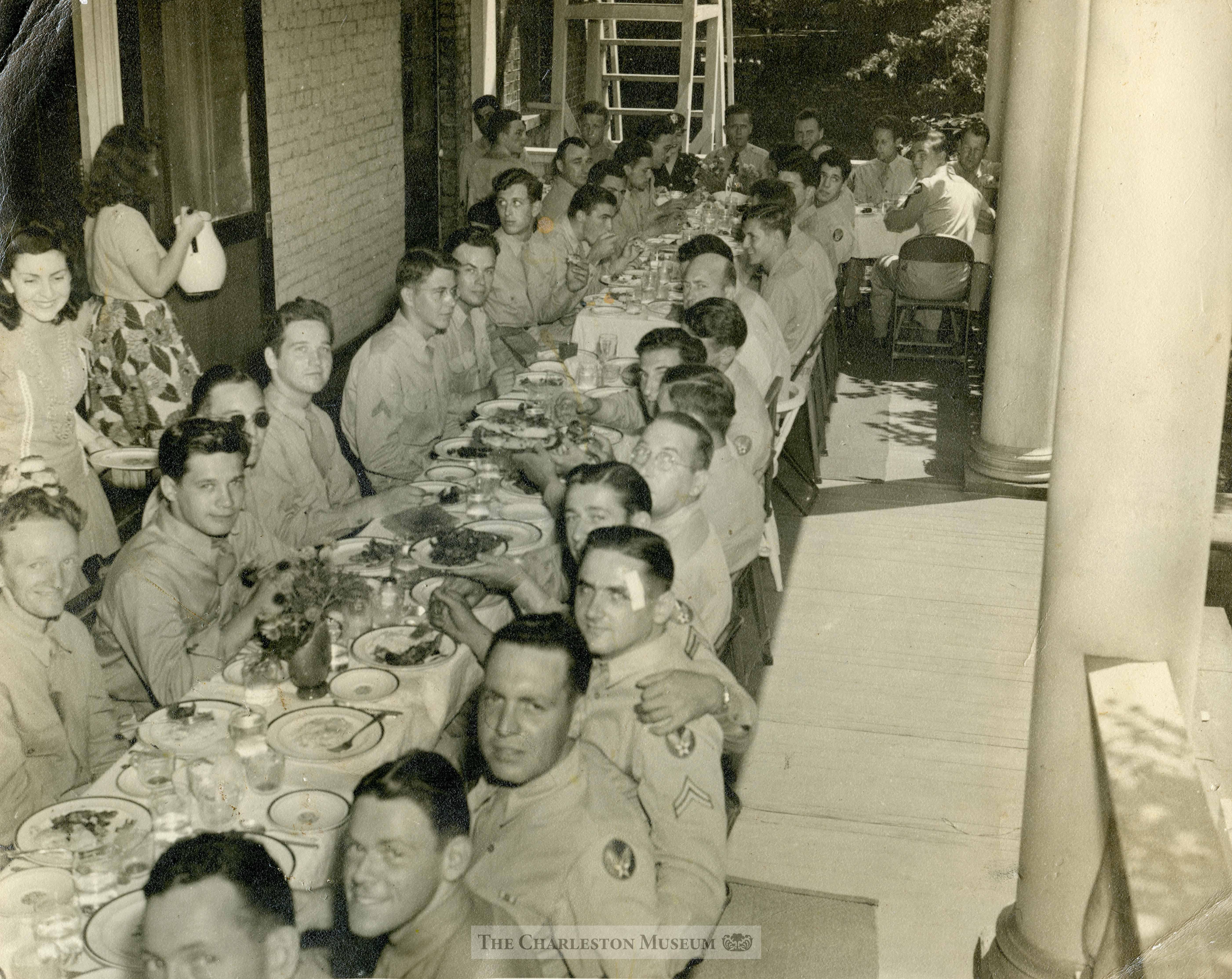USO Days at the Joseph Maniagult House
