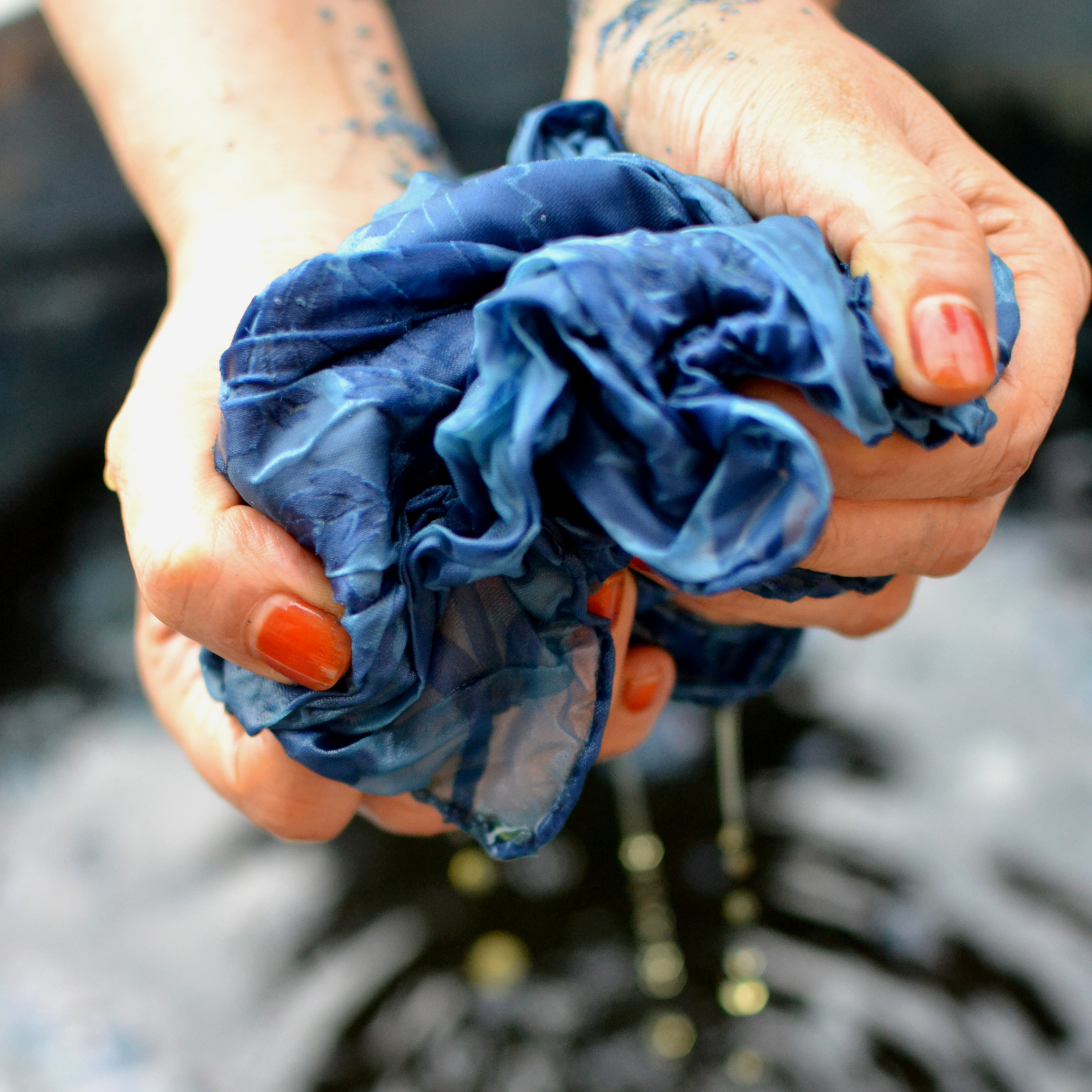 Indigo Dyeing Workshop with Kristy Bishop