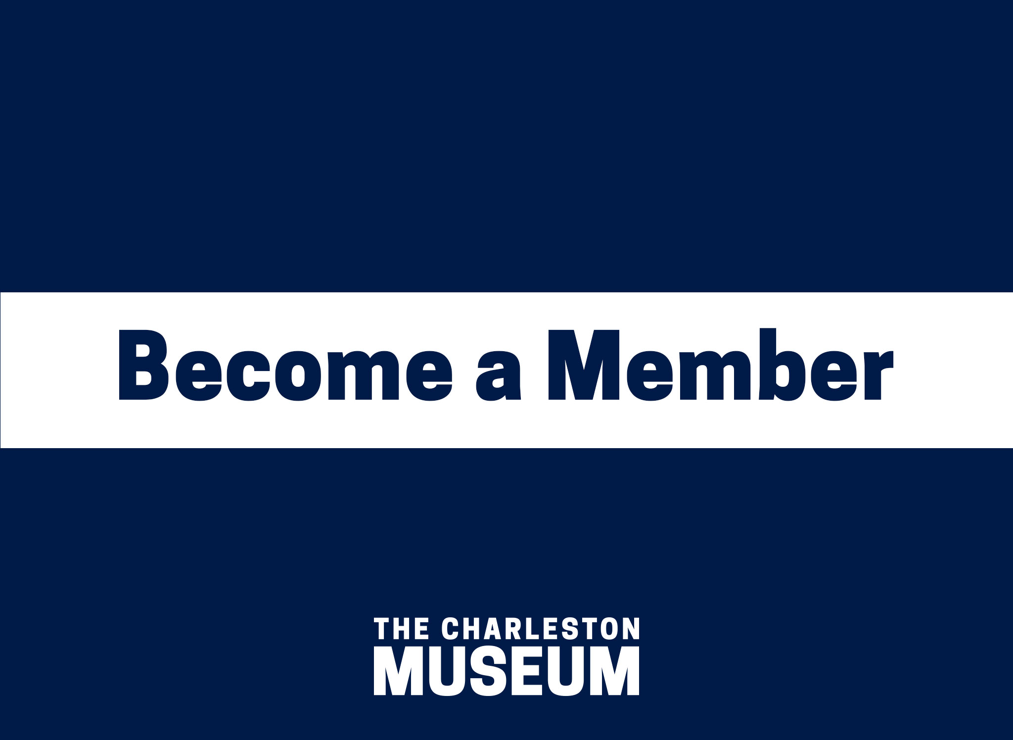 Become a Member of the Charleston Museum