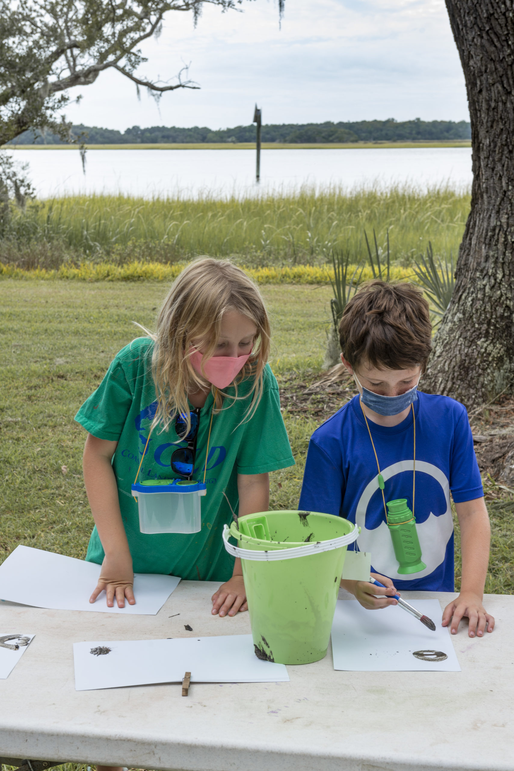 Nature Trailers Summer Camp at the Dill Sanctuary