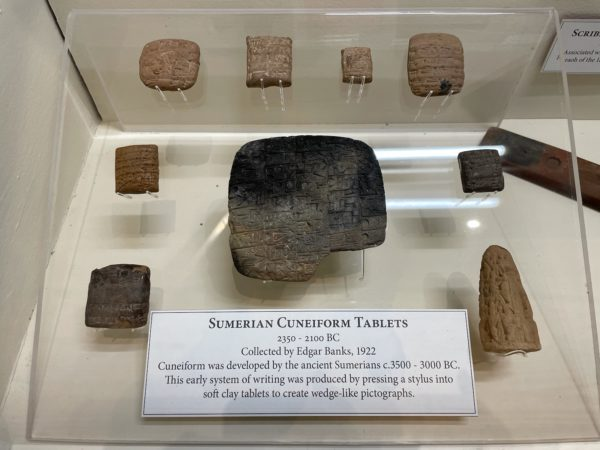 Kid Tours: Ancient Writing