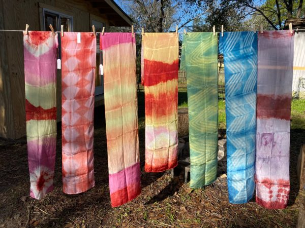 Intro to Natural Dyeing Workshop with Kristy Bishop
