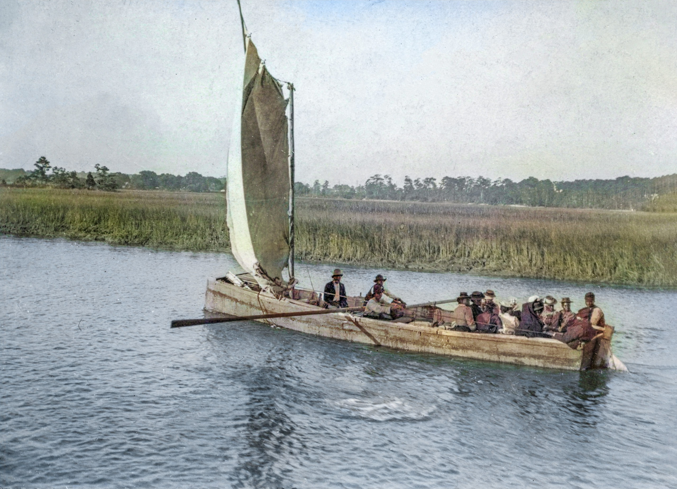 Last day to view The Lowcountry in Living Color: Making Historical Photographs Come to Life