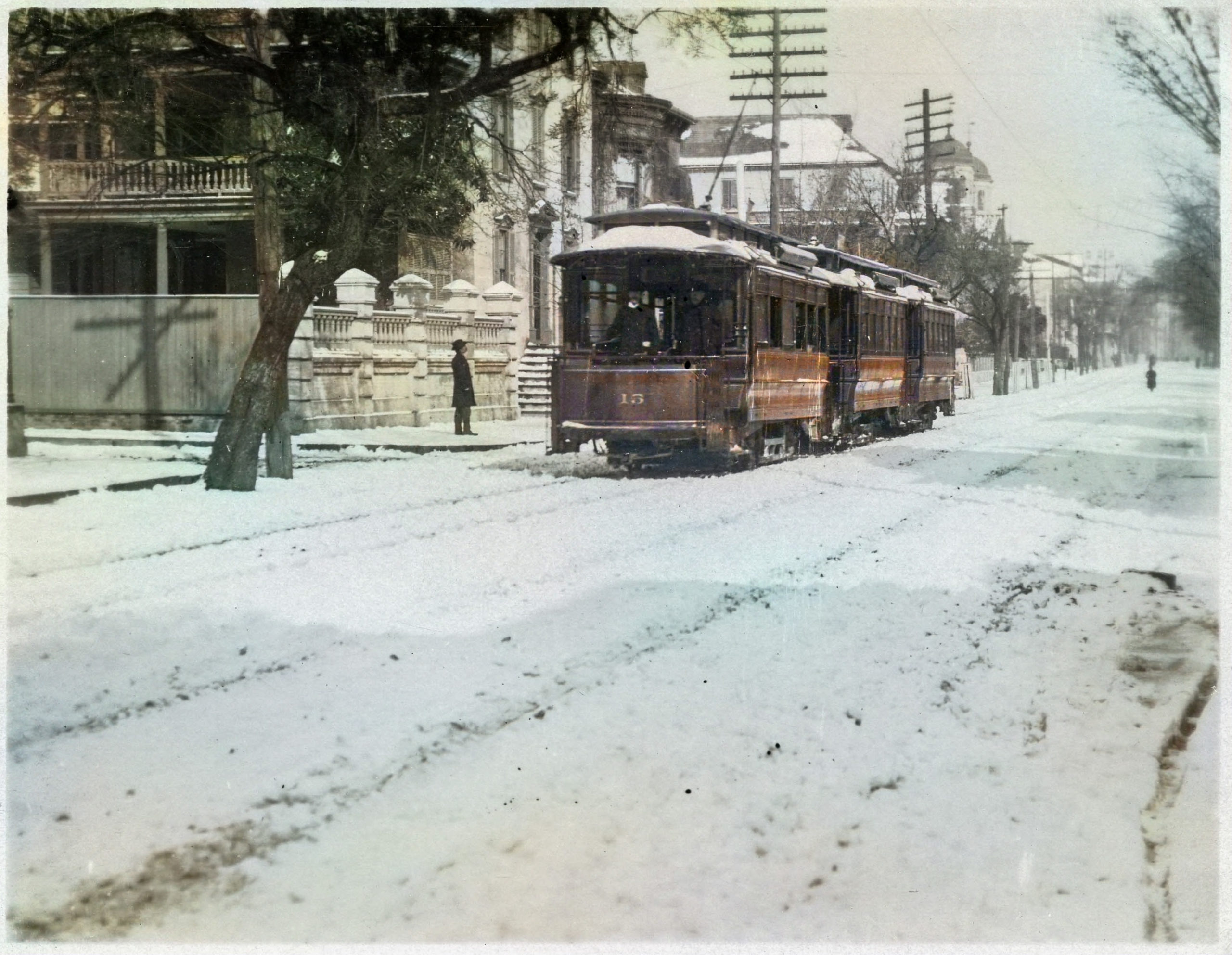 A Winter Wonderland in Color: Snow Scenes in Charleston on view in the Lowcountry Image Gallery