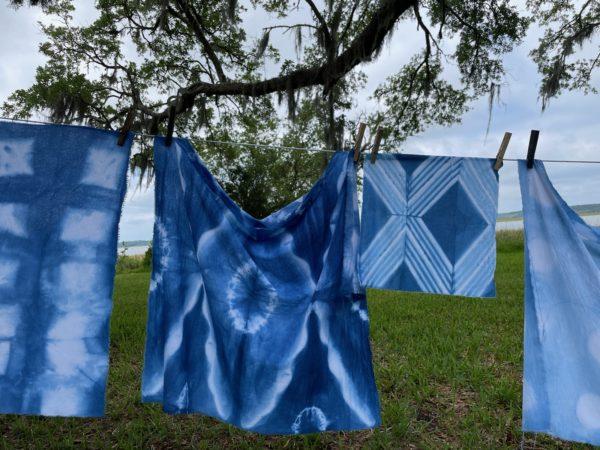 Indigo Dyeing Workshop with Local Artist Kristy Bishop